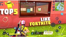 Top 5 Games Like Fortnite for Android [GameZone]
