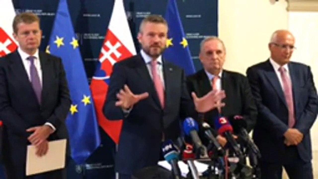 ZÁZNAM: TK predsedu vlády SR P. Pellegriniho po rokovaní so zástupcami zamestnávateľov