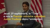 """""""A l'époque, je ne pensais pas que c'était raciste"""" : Justin Trudeau s'excuse pour son """"blackface"""""""