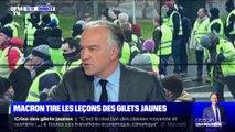 Emmanuel Macron tire les leçons des gilets jaunes