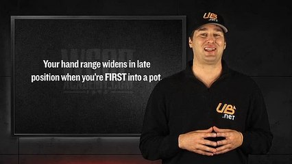WSOP Academy - Lesson 05 - Late Position Hand Selection