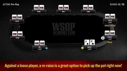 WSOP Academy - Lesson 06 - Playing from the Blinds