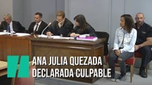 El jurado popular declara a Ana Julia Quezada culpable de asesinar a Gabriel Cruz