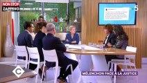 C à vous : Nathalie Saint-Cricq répond à Jean-Luc Mélenchon après ses accusations contre France 2 (vidéo)