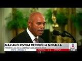 Entregan a Mariano Rivera la Medalla Presidencial de la Libertad | Noticias con Francisco Zea