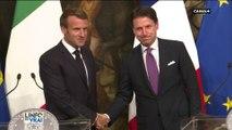 Nouveau gouvernement italien : Emmanuel Macron est le premier chef d'État à se rendre à Rome