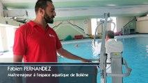 Bollène : l'espace aquatique accessible aux personnes à mobilité réduite