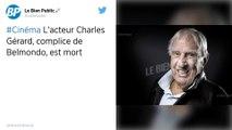 Le comédien et réalisateur, Charles Gérard est décédé à 96 ans