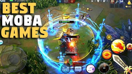 Top 5 BEST MOBA Games for Android⁄IOS [GameZone]