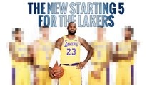 The New starting 5 for the Lakers | Los Angeles Lakers