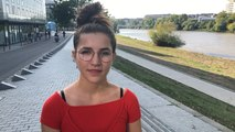 Gloria, 13 ans, collegienne à Nantes, est la plus jeune organisatrice de la grève pour le climat