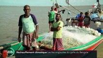 Réchauffement climatique : quatre îles englouties sur le golfe du Bengale
