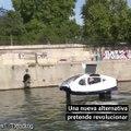 Autos acuáticos 'voladores', la nueva alternativa de transporte ecológico en París