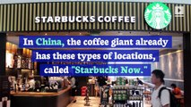 Starbucks to Open Pick-up Only Store in US