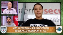 Sam Kerr's Play Style Was Influenced By Aussie Rules Football