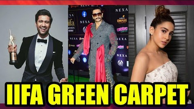 Vivky Kaushal, Ranveer Singh, Sara Ali Khan and many other celebs at the green carpet of IIFA Awards