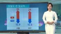 [날씨] 오늘 구름많고 일교차 커, 주말 태풍 타파 영향 비바람 / YTN