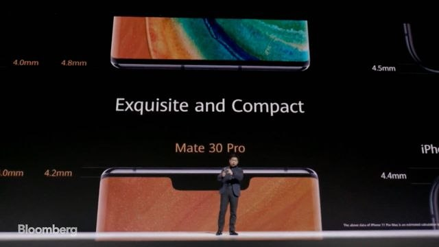 Huawei Unveils Mate 30 Phone, Minus Google Apps