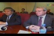 ORTM/Rencontre entre le Ministre des affaires étrangères et les 5 ambassadeurs du conseil de sécurité des Nations Unies accrédites au Mali