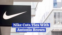 Antonio Brown Is Cut By Nike