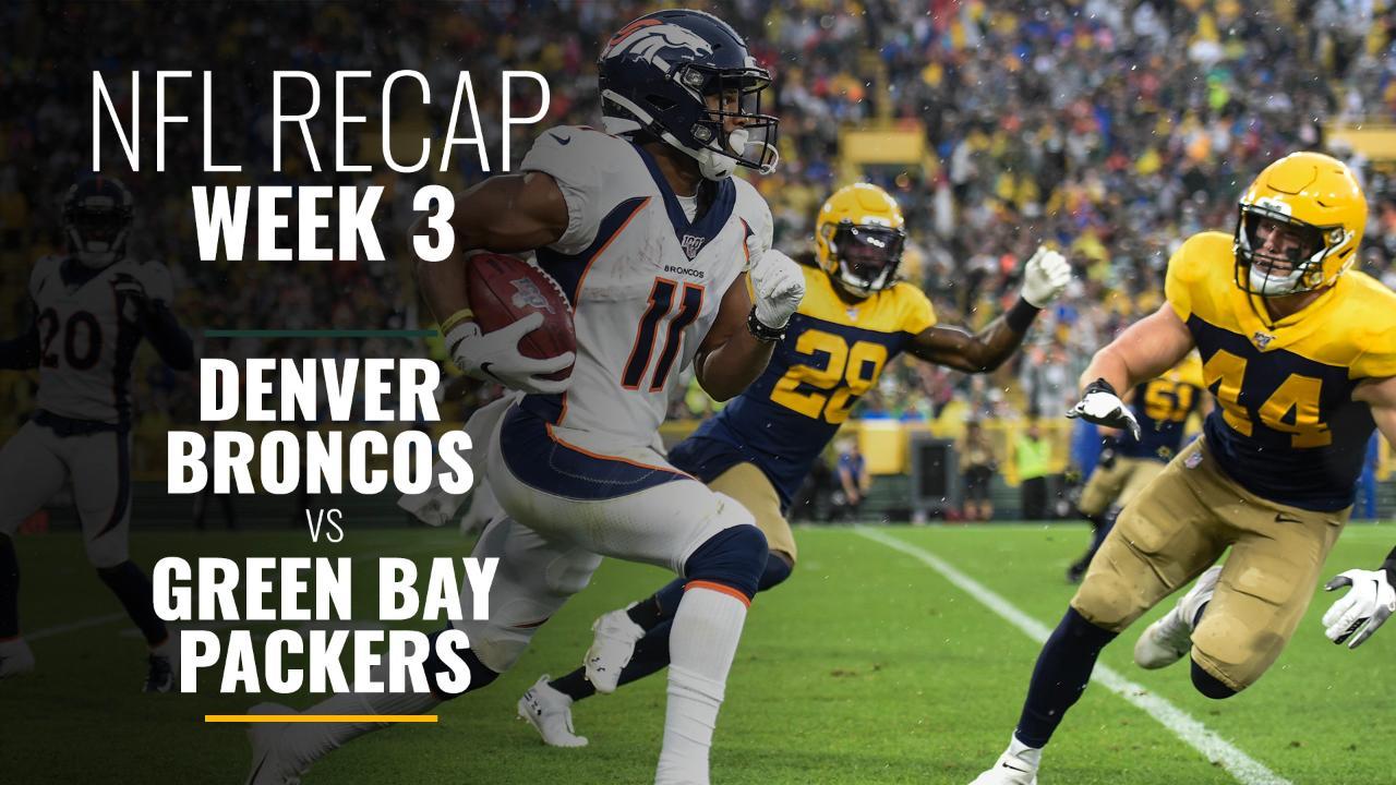 Week 3: Denver Broncos vs Green Bay Packers