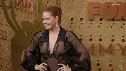 Amy Adams Emmys Red Carpet 2019