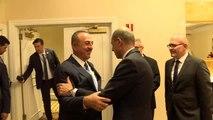Dışişleri Bakanı Çavuşoğlu - KKTC Başbakan Yardımcısı Özersay görüşmesi - NEW