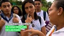 Constructores de la paz: La vida después de las FARC