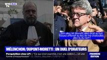 Les vifs échanges entre Mélenchon et Dupond-Moretti lors du premier jour de procès des Insoumis