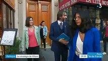 La campagne de Cédric Villani à Paris pour les municipales se poursuit et monte en puissance
