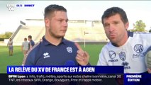 Coupe du monde de rugby: la relève du XV de France se forme à Agen