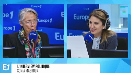 Elisabeth Borne - Europe 1 vendredi 20 septembre 2019