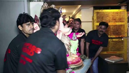 Neil Nitin Mukesh Daughter Nurvi Looks Cute In Pink Lehenga At Ganesh Chaturthi Celebration 2019