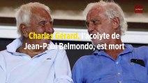 Charles Gérard, l'acolyte de Jean-Paul Belmondo, est mort