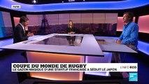 Coupe du monde de rugby : un gazon de compétition conçu par une startup française
