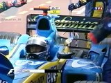 F1 2004_Manche 6_Grand Prix de Monaco_Course_F.ALONSO(Renault)_Accident (en français - TF1 - France) [RaceFan96]