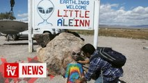 'Alienstock' in the Nevada desert readies for UFO enthusiasts