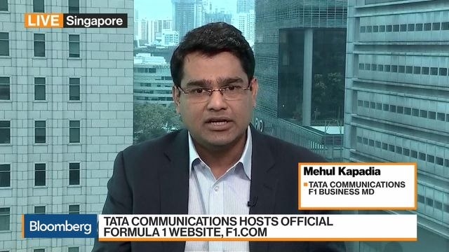 Data and Digital Are Bringing F1 Alive, Says Tata Communications's Kapadia