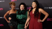 Ryan Michelle Bathe, Michelle Buteau, Tracy Oliver First Wives Club BET+ Launch Party Red Carpet