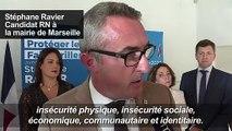 Le candidat RN à Marseille Ravier lance sa campagne