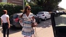 Paula Echevarría reacciona a la polémica de Bustamante