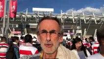 Rugby à XV - Coupe du monde : la ferveur monte au Japon