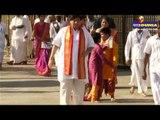 KCR visits Tirumala