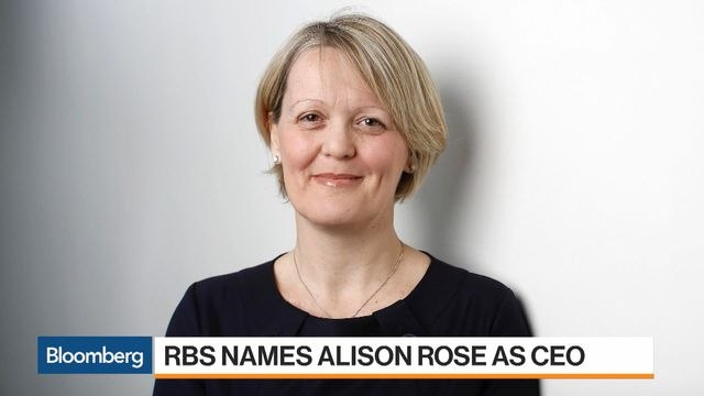 Alison Rose to Be Next RBS CEO