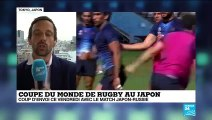 Coupe du monde de rugby : coup d'envoi avec le match Japon-Russie