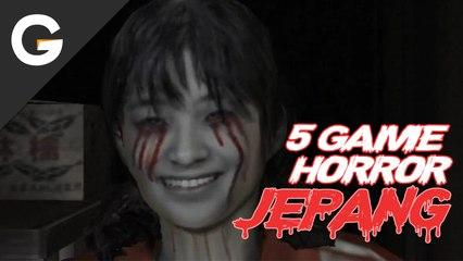5 Game Horror Bertema Jepang yang Membuat Mu Mimpi Buruk!