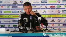Thierry Laurey regrette la suspension de la Coupe de la Ligue