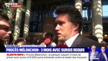 """L'avocat de Jean-Luc Mélenchon affirme que """"les réquisitions restent à combattre"""""""