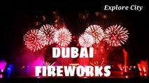 Dubai firework 2019 ,  best firework ,  best places of dubai