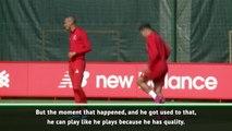 Fabinho showing Monaco form - Klopp